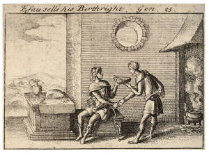 800px-Wenceslas_Hollar_-_The_mess_of_pottage_(State_2)